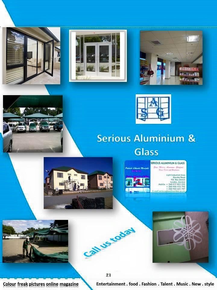 Serious Aluminium and glass