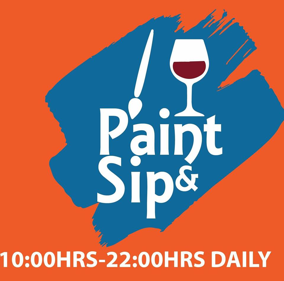 paint and sip Lusaka
