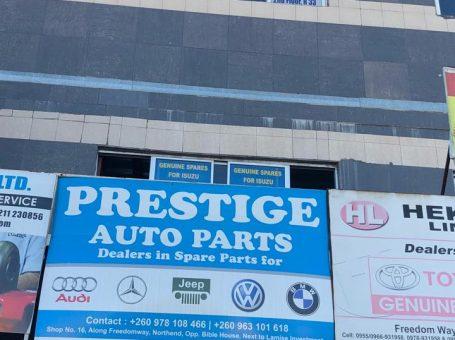 Prestige Auto Zambia