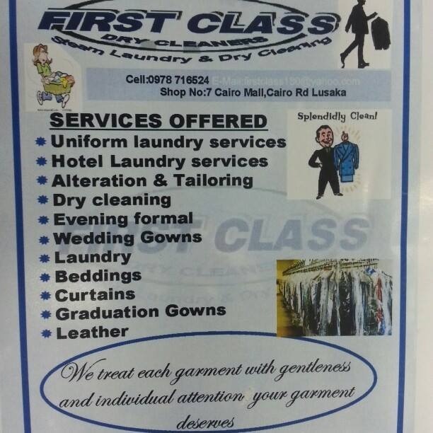 FIRST CLASS DRY Cleaners