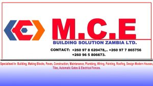 Mce constructions & Building solutions zambia.