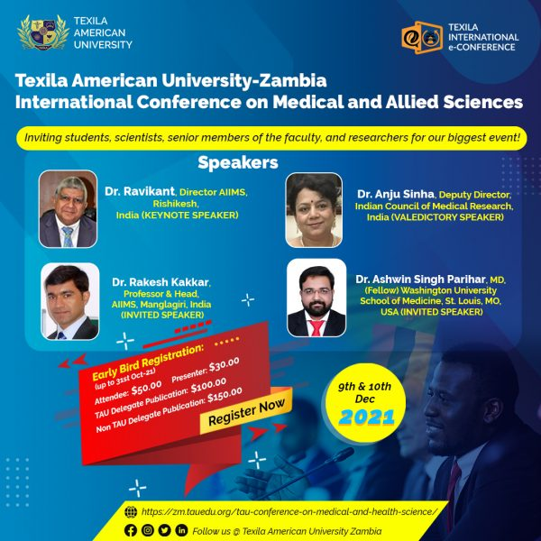 TAU-International Conference on Medical and Allied Sciences